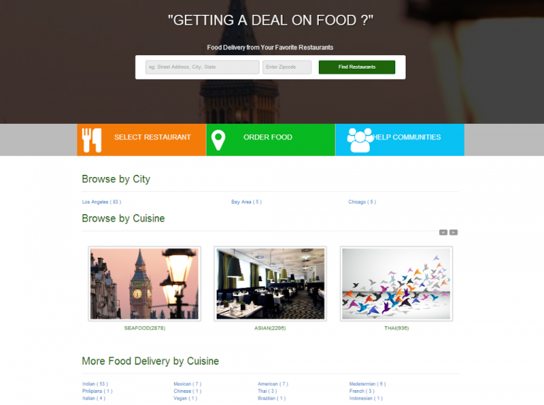 Help us name the food ordering portal