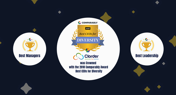 Clorder Corporation Earns Comparably Employees Choice Awards Honors