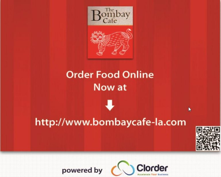 Bombay Café – ZAGAT rated top India Restaurant in LA